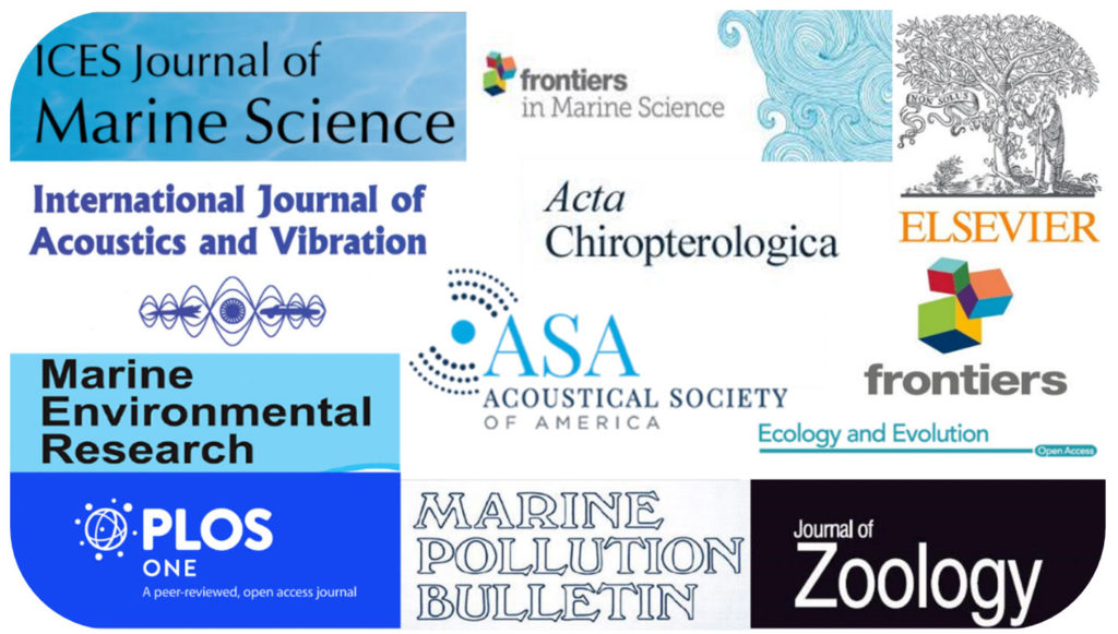 Some of the peer-reviewed journals with which OSC has published scientific papers in the past sixteen years of activity. © OSC (2020).